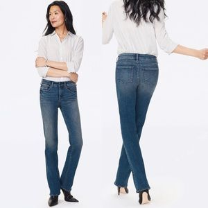 NWT NYDJ Marilyn Straight Jeans In Lombard